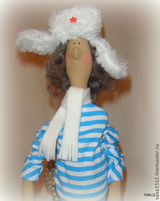 Куклы Тильды ручной работы. Ярмарка Мастеров - ручная работа. Купить Кентавр в стиле Тильда. Handmade. Синий, коллекционная кукла
