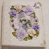 Свадебный салон ручной работы. Ярмарка Мастеров - ручная работа Фотоальбом свадебный. Handmade.
