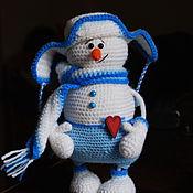 Подарки к праздникам handmade. Livemaster - original item snowman eremka. Handmade.