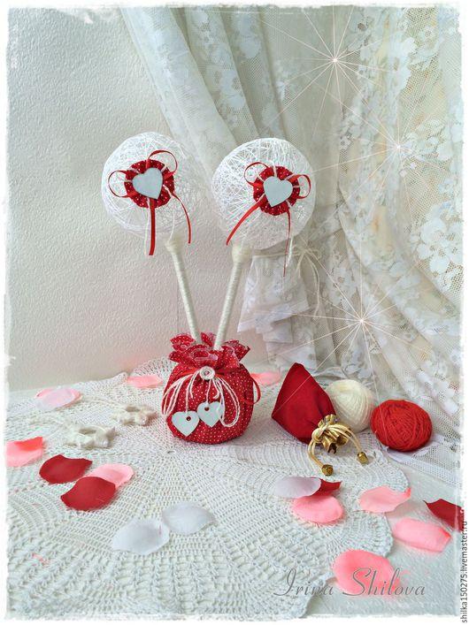 """Подарки для влюбленных ручной работы. Ярмарка Мастеров - ручная работа. Купить Топиарий    """"Шары любви"""" ,сердце Подарок для влюблённых. Handmade."""