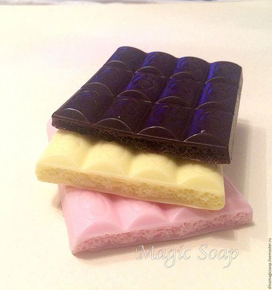 Мыло ручной работы. Ярмарка Мастеров - ручная работа. Купить мыло Шоколад воздушный. Handmade. Комбинированный, мыло ручной работы