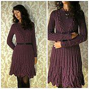 Одежда handmade. Livemaster - original item Knitted women`s dress