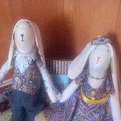 Куклы и игрушки ручной работы. Ярмарка Мастеров - ручная работа заяц тильда. Handmade.