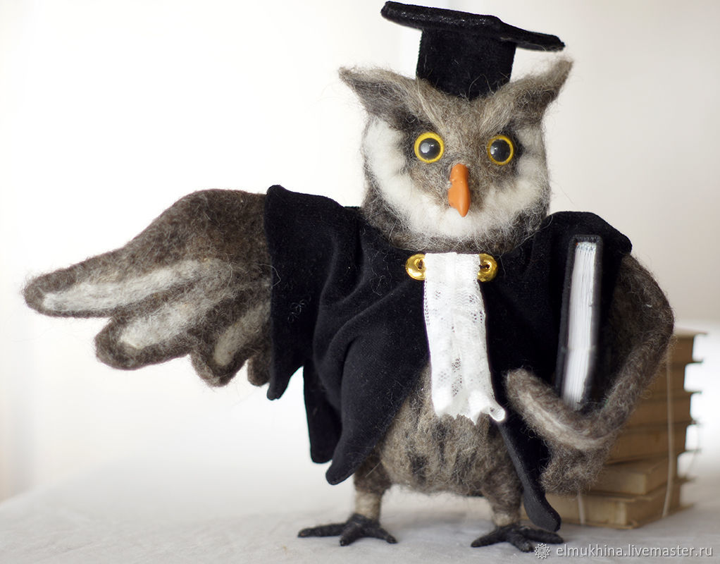 Owl judge. Wise owl. A gift to the judge, Souvenirs by profession, Moscow,  Фото №1