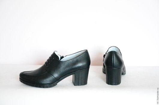 Обувь ручной работы. Ярмарка Мастеров - ручная работа. Купить Комфорт 2. Handmade. Ншан томбакчян, туфли кожаные