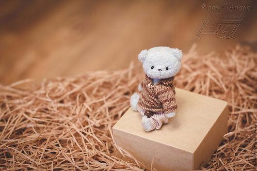мишка тедди Мартин от мира Воображариум-анви, ручная работа, ростик 10 см