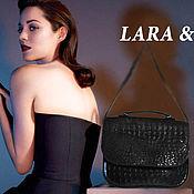 Сумки и аксессуары handmade. Livemaster - original item Leather female bag briefcase