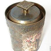 """Для дома и интерьера ручной работы. Ярмарка Мастеров - ручная работа Банка для чая """"Вкус Индии"""". Handmade."""