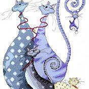 Картины и панно ручной работы. Ярмарка Мастеров - ручная работа Cat Pack. Handmade.