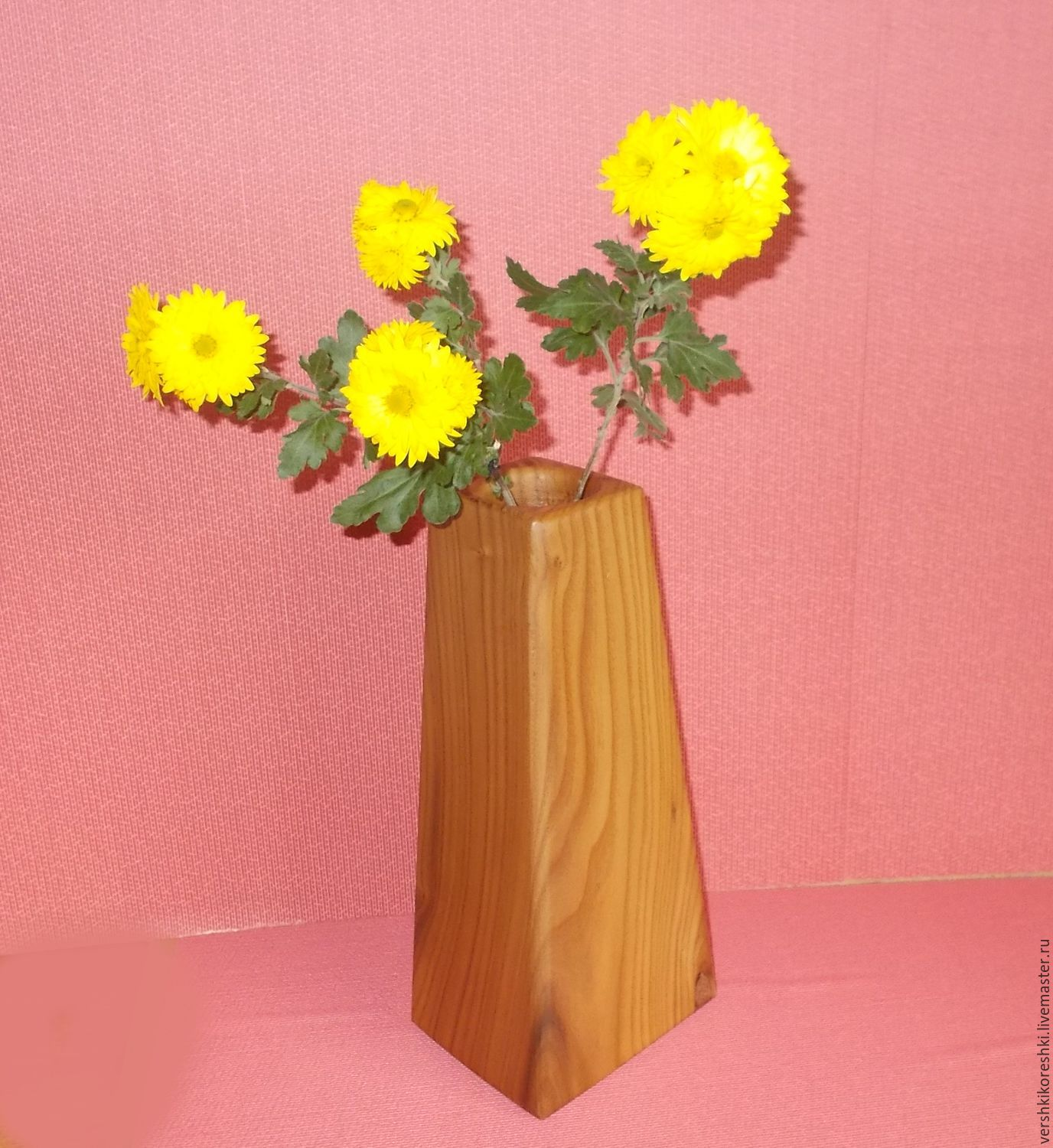 flowers vase dried for item m flowerpot shop wood handmade made vases of
