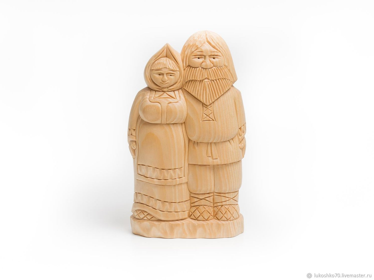Figurine wooden. Figurines made of wood. My grandparents, Figurine, Tomsk,  Фото №1