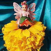 Для дома и интерьера ручной работы. Ярмарка Мастеров - ручная работа Кукла шкатулка. Handmade.