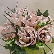 Приколы ручной работы. Ярмарка Мастеров - ручная работа денежный подарок, розы, елки,денежное дерево подарок мужчине и женщине. Handmade.