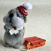 """Куклы и игрушки ручной работы. Ярмарка Мастеров - ручная работа """"Афанасий"""" ежик. Handmade."""