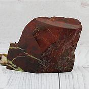 Необработанный камень ручной работы. Ярмарка Мастеров - ручная работа Яшма красная природная. Handmade.
