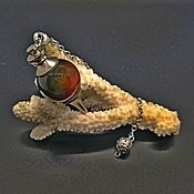 Фен-шуй и эзотерика handmade. Livemaster - original item Pendulum from Madagascar agate. Handmade.