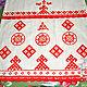 Linen towel ' Makoshina shroud'. Towels2. Kupava - ethno/boho. Online shopping on My Livemaster.  Фото №2