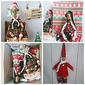 Куклы и игрушки ручной работы. Ярмарка Мастеров - ручная работа Новогоднее Разное. Handmade.