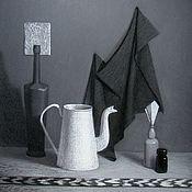 """Картины и панно ручной работы. Ярмарка Мастеров - ручная работа Картина """"Черно-белый натюрморт"""". Handmade."""
