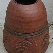 Посуда ручной работы. Ярмарка Мастеров - ручная работа Большие глиняные калебасы для мате высокие. Handmade.