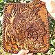 Wallets & Business Card Holders handmade. Leather wallet Carp Koi. schwanzchen. My Livemaster.Purse handmade