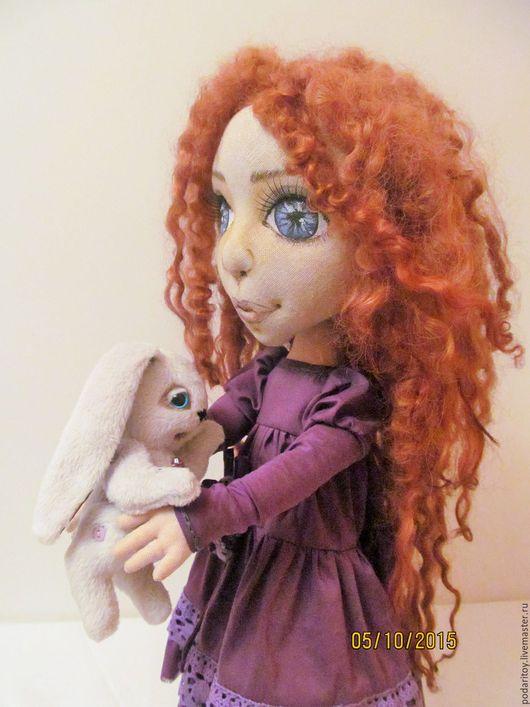 Коллекционные куклы ручной работы. Ярмарка Мастеров - ручная работа. Купить Текстильная кукла.. Handmade. Интерьерная кукла, кукла текстильная