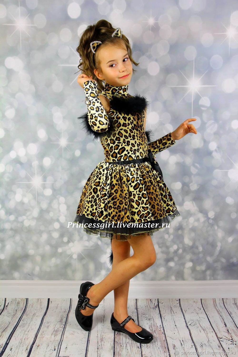 Costume leopard, Carnival costumes for children, Moscow,  Фото №1