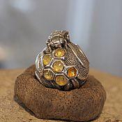 Материалы для творчества handmade. Livemaster - original item Bee charm. Handmade.