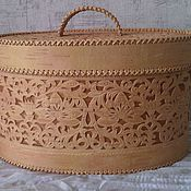 Для дома и интерьера handmade. Livemaster - original item Birch bark basket. Handmade.