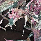 Аксессуары ручной работы. Ярмарка Мастеров - ручная работа Валяный палантин Микс. Handmade.