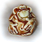 Сувениры и подарки ручной работы. Ярмарка Мастеров - ручная работа Весёлая обезьянка. Handmade.