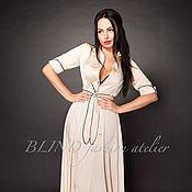 Платья ручной работы. Ярмарка Мастеров - ручная работа Платье-рубашка 00204. Handmade.