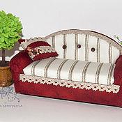Куклы и игрушки ручной работы. Ярмарка Мастеров - ручная работа диван для кукол. Handmade.