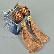 Украшения ручной работы. Ярмарка Мастеров - ручная работа серьги-кисти Royal Lady. Handmade.