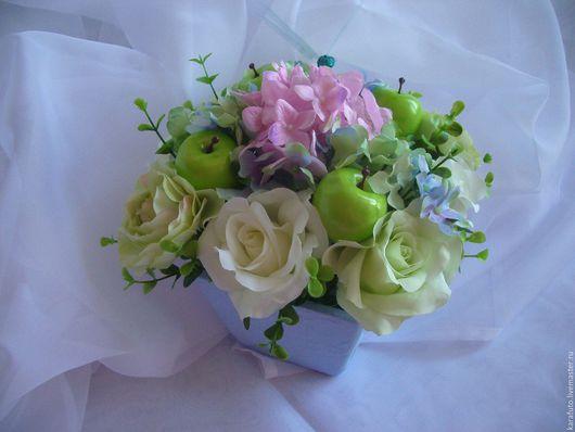 Цветы, букет, интерьерные цветы, интерьерный букет, флористическая композиция, интерьерная композиция, подарок женщине, подарок девушке, подарок на 8 марта, весенние цветы, Elena Karafuto.