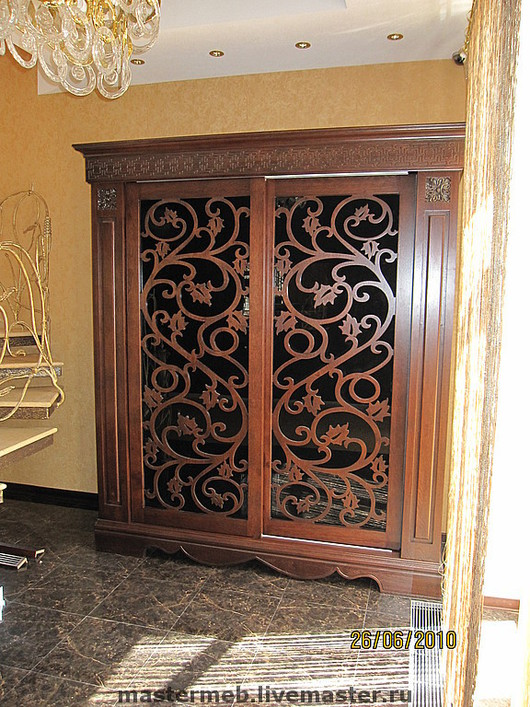 Furniture handmade. Livemaster - handmade. Buy Wardrobe from the array.Woodcarving, tree, wooden furniture, exclusive furniture