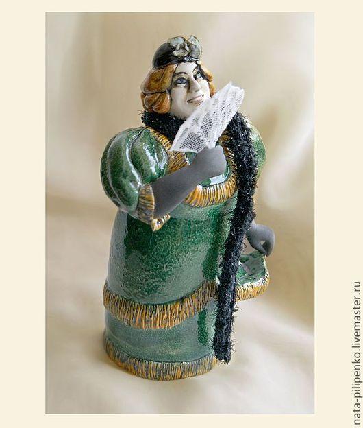 """Колокольчики ручной работы. Ярмарка Мастеров - ручная работа. Купить """"Бабс Баберлей, он же Донна Роза"""" (к/ф """"Здравствуйте, я ваша тётя""""). Handmade."""