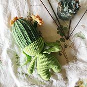 Для дома и интерьера handmade. Livemaster - original item Cactus in the shape of a Bunny. Handmade.