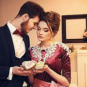 Свадебный салон ручной работы. Ярмарка Мастеров - ручная работа Свадебное платье Шебби Шик. Handmade.