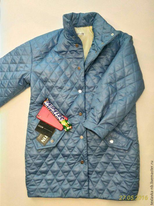 Куртка стеганая демисезонная. Ручная работа. Пошив на заказ. Индивидуальный пошив. Текстильная Лавочка. Ярмарка Мастеров.