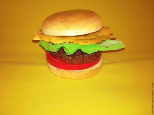Рекламные стенды ручной работы. Ярмарка Мастеров - ручная работа. Купить Гамбургер. Handmade. Комбинированный, бутафория, еда, рекламная съемка