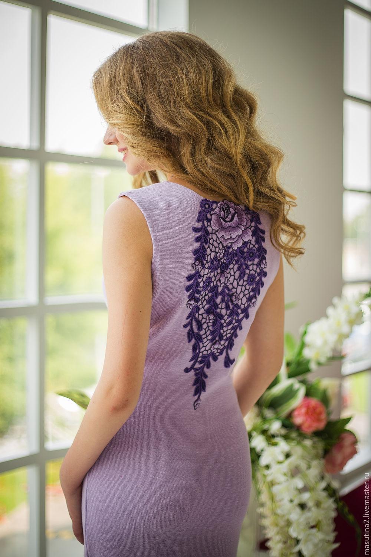 Dress 'Bouquet of lavender', Dresses, St. Petersburg,  Фото №1