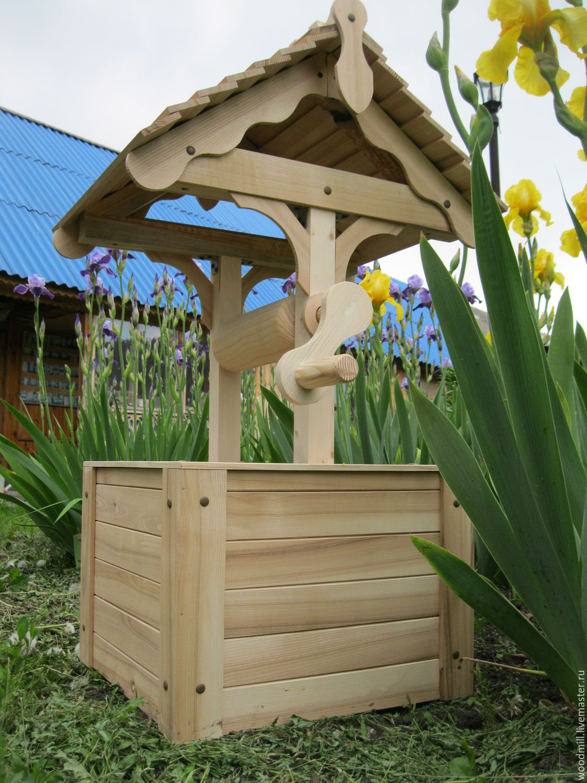 Как сделать деревянный колодец - AtmWood 59