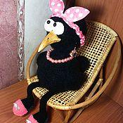 Куклы и игрушки ручной работы. Ярмарка Мастеров - ручная работа Ворона Глафира. Handmade.
