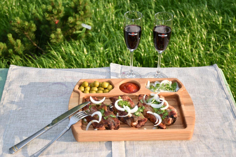 Тарелка для подачи мяса, Тарелки, Сергиев Посад,  Фото №1