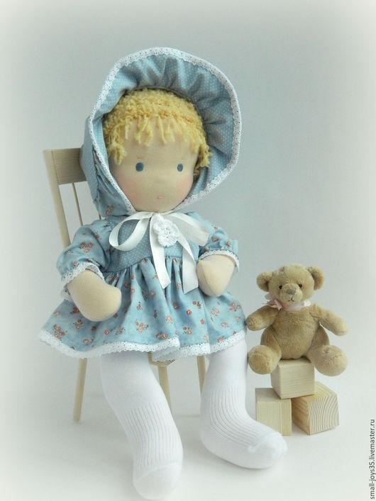 Вальдорфская игрушка ручной работы. Ярмарка Мастеров - ручная работа. Купить Игровая кукла Лапушка. Handmade. Вальдорфская кукла