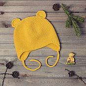 Работы для детей, ручной работы. Ярмарка Мастеров - ручная работа Шапочка детская вязаная Winnie. Handmade.
