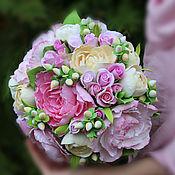 Свадебный салон handmade. Livemaster - original item wedding bouquet. A bouquet for the bride.A bouquet of polymer clay. Handmade.