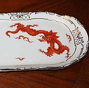 Винтаж handmade. Livemaster - original item Gorgeous dish handmade, Meissen