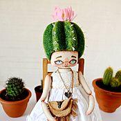 Куклы и игрушки ручной работы. Ярмарка Мастеров - ручная работа Девочка кактус. Handmade.